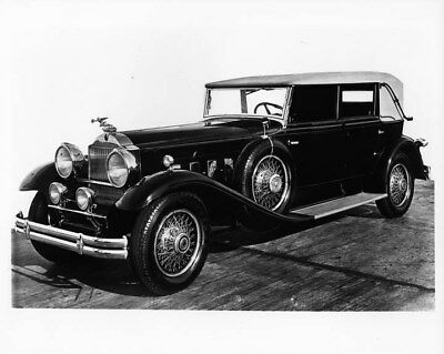 1930 Packard Eight Convertible ORIGINAL Photo Negative nad2075