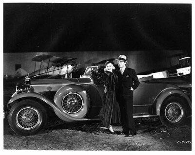 1930 Packard Custom Eight Roadster ORIGINAL Photo Negative nad2082