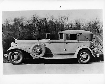 1931 Packard Custom Body Town Car ORIGINAL Photo Negative nad2093