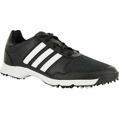 adidas Mens Tech Response Golf Shoes F33553 10 Wide Black/White