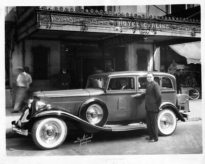 1932 Packard Light Eight 900 Sedan ORIGINAL Photo Negative nad2110