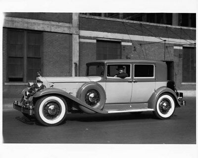 1932 Packard Twin Six Club Sedan ORIGINAL Photo Negative nad2144