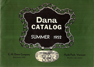 Breeders Specialties & Livestock Supplies Cattle Sheep Hogs 1952 Catalag CH Dana