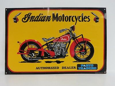 Indian Motorcycles Dealer Reproduction Garage Sign