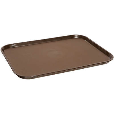 "Cambro 28-7/8"" X 23-1/2"" Oval Non-Slip Fiberglass Food Trays, 6Pk Tavern Tan"