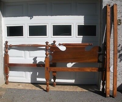 Antique Maple Wood Rope Bed ~ Nice ~ Pick Up In New York