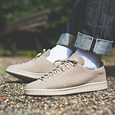 buy online 655a5 de8d4 ADIDAS STAN SMITH Primeknit Sneakers Clay Brown Size 8 9 10 11 12 Mens NMD  Boost