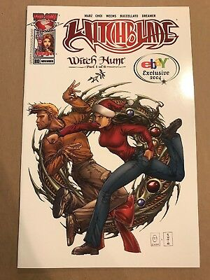 Witchblade #80 D Witch Hunt Top Cow Image Comic 1st Print eBay exclusive 2004 NM