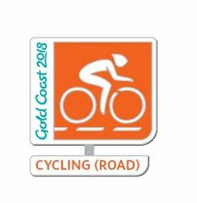 333205 2018 Gold Coast Commonwealth Games Cycling Road Sports Metal Pin Badge