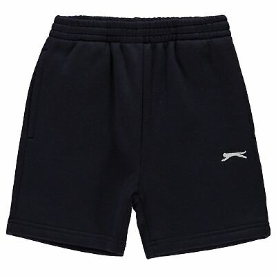 Slazenger Kids Boys Fleece Shorts Junior Pants Trousers Bottoms Lightweight Warm