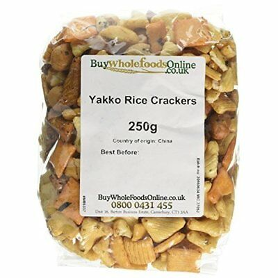 Buy Whole Foods Online Ltd. Yakko Rice Crackers 250 g