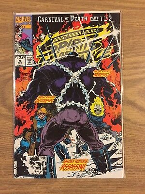 Ghost Rider Blaze Spirits of Vengeance #9 1992 VF to NM