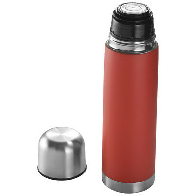 Edelstahl Isolierkanne / Thermosflasche / Thermoskanne / 0,5l / Farbe: rot