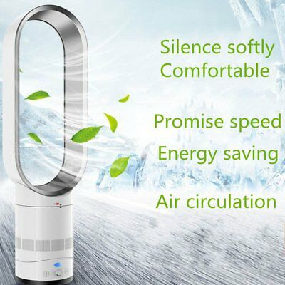 """NEW Bladeless Fan 16"""" With Remote Control AirFlow Cooling Fan Low db Home Of DXY"""