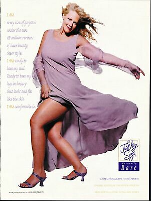 Print Ad~2000~Just My Size~Pantyhose~Curvy~Big Beautiful~G200