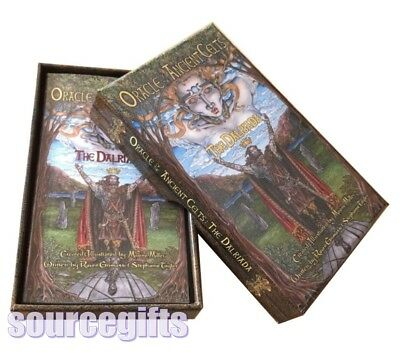 ancient celts oracle card deck - the dalriada - new sealed deck
