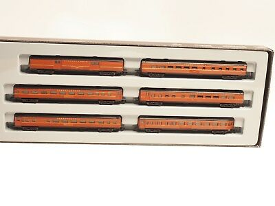 87847 MARKLIN Z-scale Pennsylvania PRR Streamliner Passenger 6 Car Set