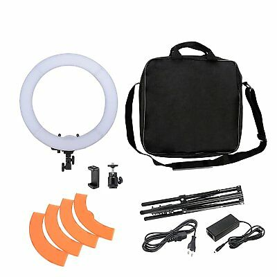 Zomei 18-inch LED Ring Light 55W 5500K Lighting Kit with Tripod Stand Ball Head