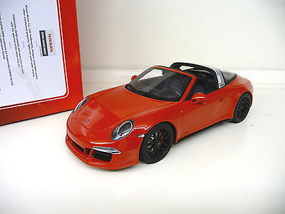 1:18 GT Spirit Porsche 911 991 Targa GTS red Limited Ed. NEW SHIPPING FREE