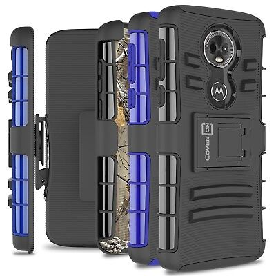 CoverON for Motorola Moto E5 Plus / Moto E5 Supra Belt Clip Case Hybrid Cover