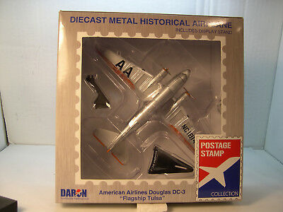 Douglas Dc3 American Airlines Flagship Daron 1:144 Scale Diecast Display Model