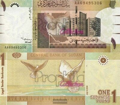 Sudan Pick-number: 64a uncirculated 2006 1 Pound