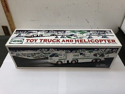 2006 Hess Toy Truck & Helicopter New In Box NIB