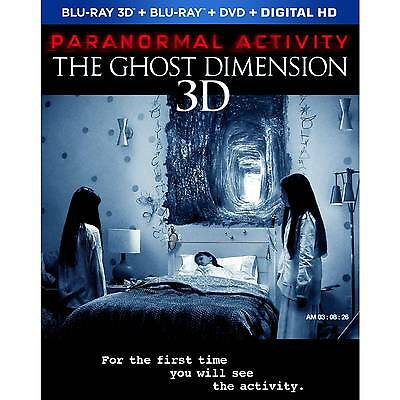 Paranormal Activity: The Ghost Dimension 3D  Blu-ray FREE SHIPPING!!