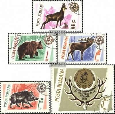 Romania 2460-2464 (complete.issue) fine used / cancelled 1965 Trophies