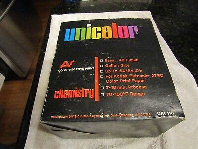 Unicolor Ar Film Development Chemicals Kodak Ektacolor 37RC Color Print 116 NOS