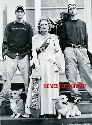 Print Ad~1999~Abercrombie & Fitch~Semester Abroad~Queen Elizabeth~England~G500