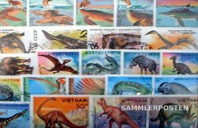 Thematics 150 different Prehistoric Animals stamps