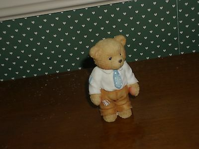 Cherished Teddies-Our Cherished Family Older Son Figure-New Cond.