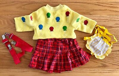 Playmates Cricket Doll Clothes Vintage Outfit Skirt Top Apron
