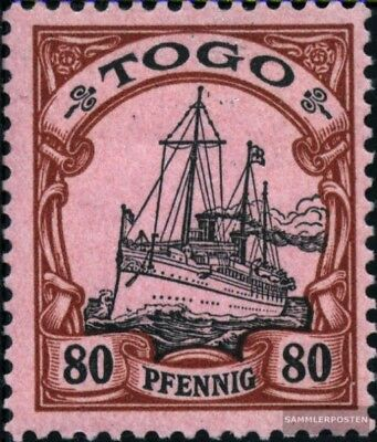 Togo (German. Colony) 15 with hinge 1900 Ship Imperial Yacht Hohenzollern
