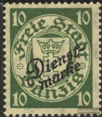 Gdansk D42a used 1924 service mark