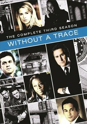 WITHOUT A TRACE COMPLETE SEASON 3 New Sealed 6 DVD Set Warner Archive Collection