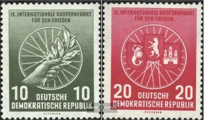 DDR 521-522 (complete issue) unmounted mint / never hinged 1956 International Ra