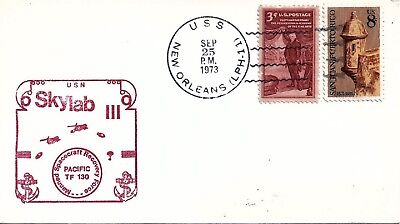 UNITED STATES - 1973 Skylab III Manned Spacecraft Recovery Force Cover