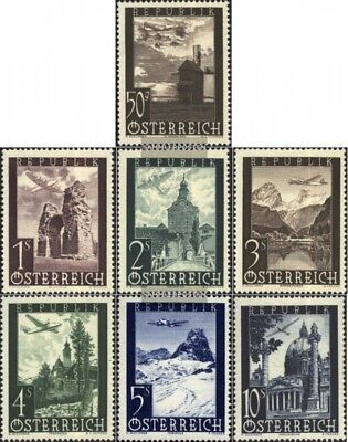 Austria 822-828 (complete issue) unmounted mint / never hinged 1947 Landscapes