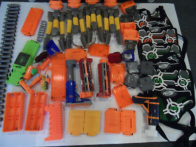 Lot of 35+ Nerf Accessories See photos and description/Great Price$$