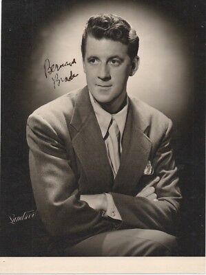 BERNARD BRADEN 'DAY THE EARTH CAUGHT FIRE' HAND SIGNED AUTOGRAPHED 8x10 PHOTO