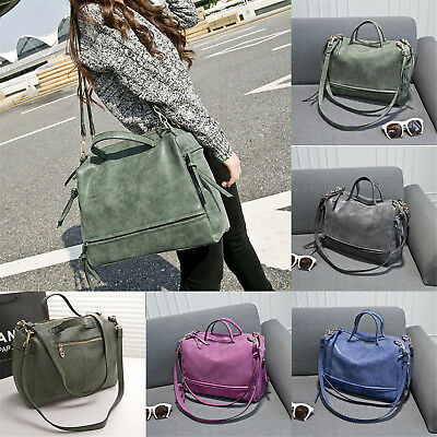 Women Large Handbag Messenger Hobo Satchel Shoulder Crossbody Bag Tote Purse FAD