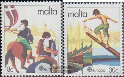 Malta 628-629 (complete issue) unmounted mint / never hinged 1981 Folklore