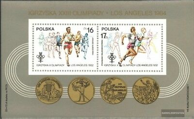 Poland block94 (complete issue) unmounted mint / never hinged 1984 olympic. Game