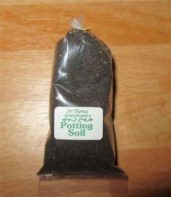 Miniature Dollhouse 1:12 Scale Large Bag Of Potting Soil By Sir Thomas Thumb