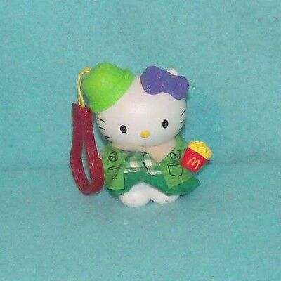 Hello Kitty Girl Scout Key Chain Zipper Pull