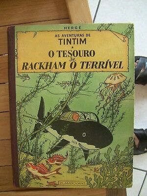 Tintin Tim Kuifje Herge Brazilian Flamboyant Almost New Very Very Rare