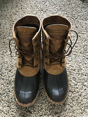 Lacrosse for Jcrew Duck Boots Mens Size 10 Brown