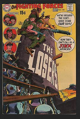Our Fighting Forces #125 VF/NM 9.0 Off White to White Pages